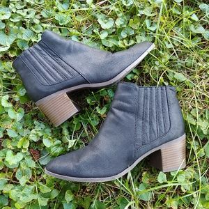 Maurices Black Booties